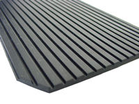 Ribbed Rubber Matting, 3mm Flat Rib