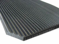 6.0mm Rubber Flooring fine ribbed