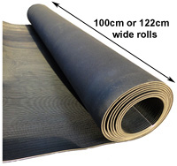 Rubber Matting Ribbed Rubber Mats Fluted Rolls Ribbed