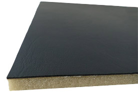 upholstery vinyl on scrim back foam, Off Black
