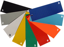 Reinforced Vinyl Coated Fabric, Tarpaulin colour swatch